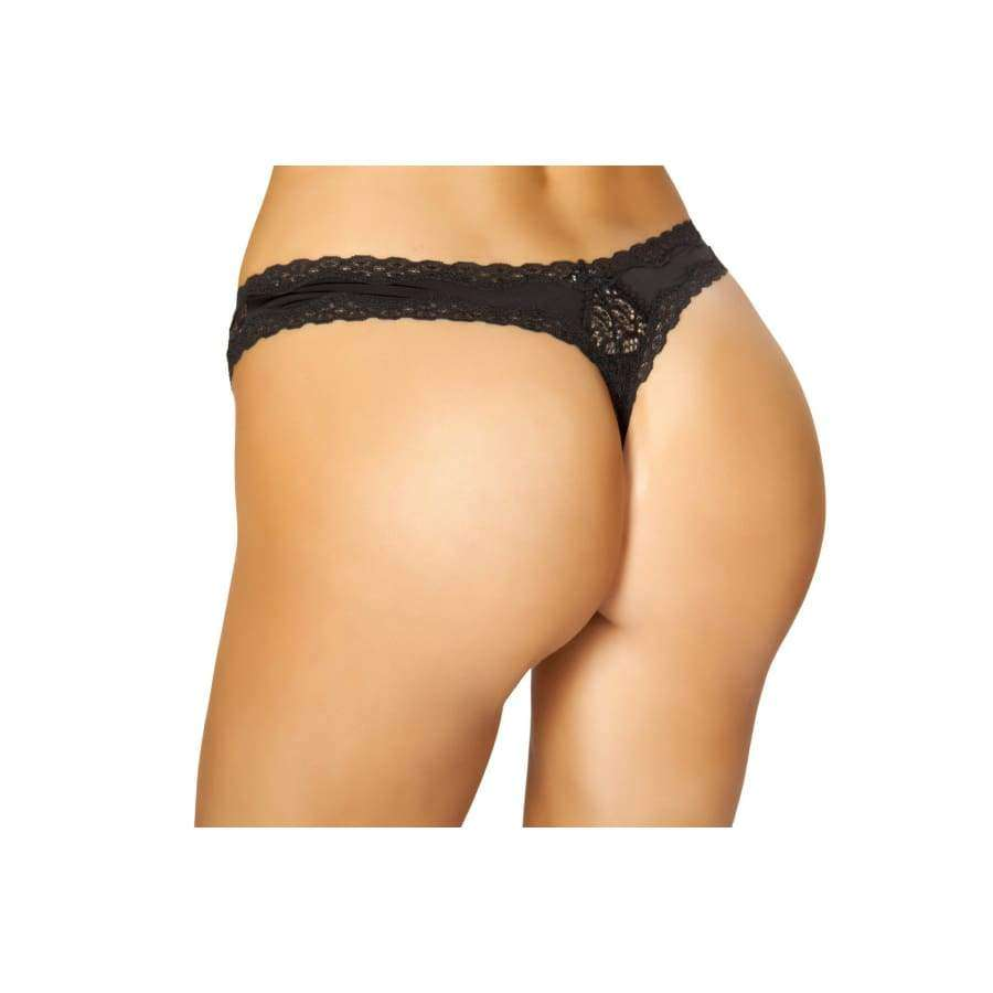 Thong Panty (Curvy Sizes Available) - lingerie
