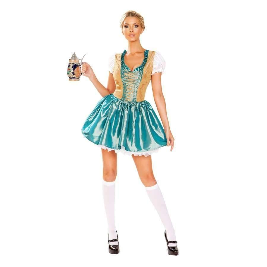 Beer Girl - Small / Blue/Gold - Costume