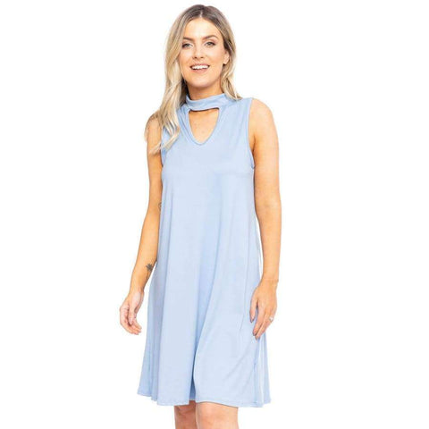 Sleeveless Short A-line Dress