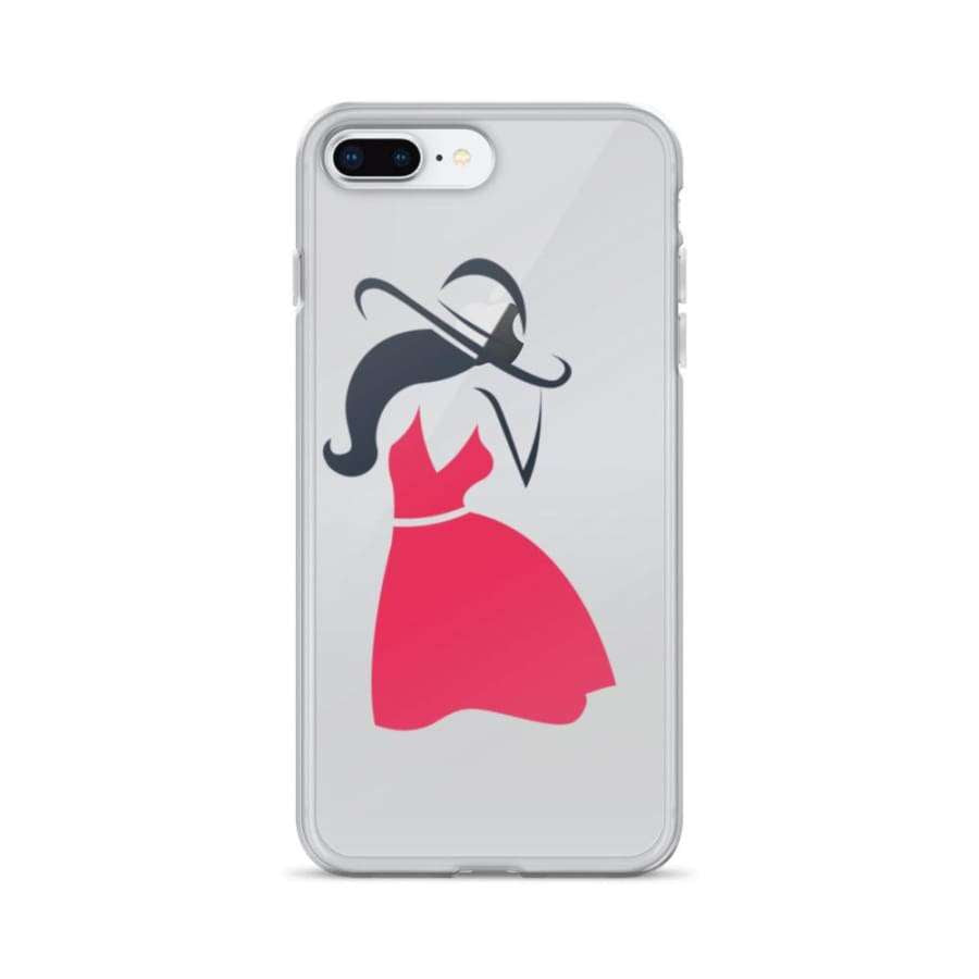 Distinctive Woman iPhone Case - iPhone 7 Plus/8 Plus