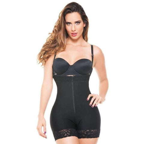 Black Trainer Controls Abdomen And Waist (Curvy Sizes Available) - S - Waist Trainer