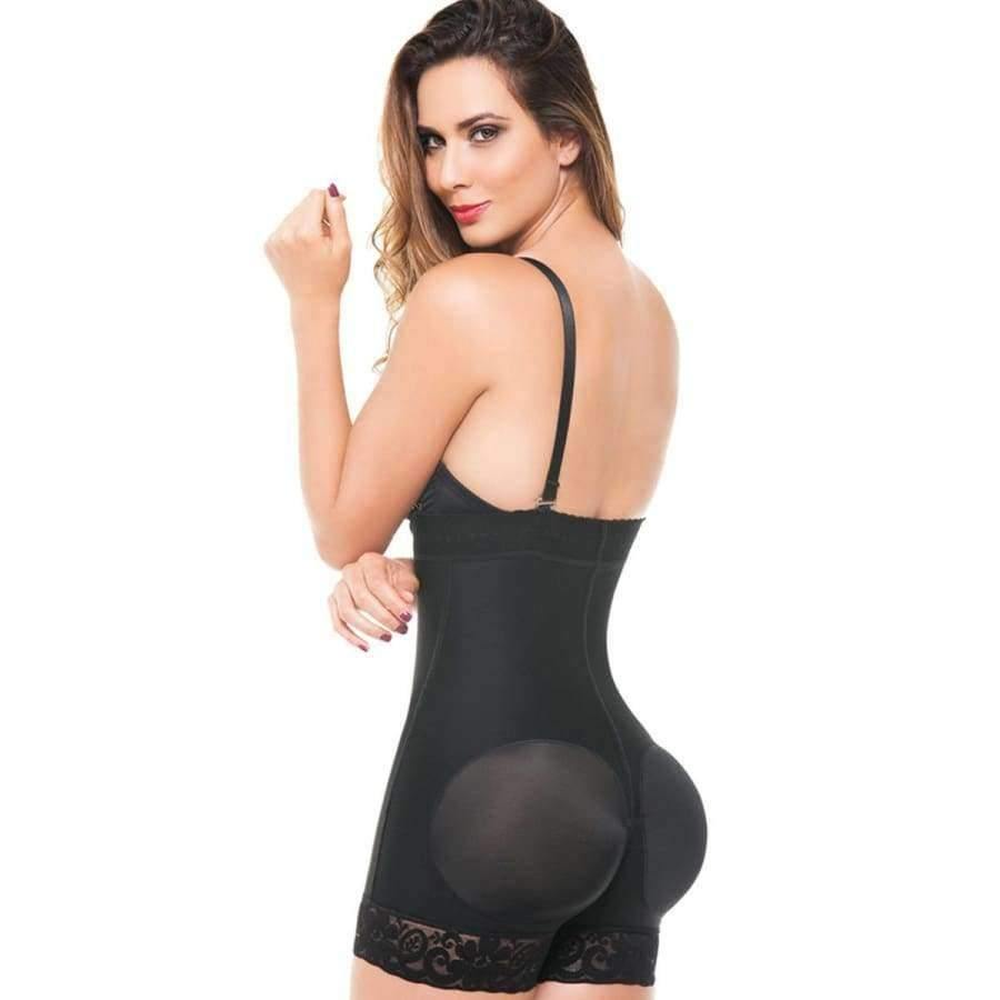 Black Trainer Controls Abdomen And Waist (Curvy Sizes Available) - Waist Trainer
