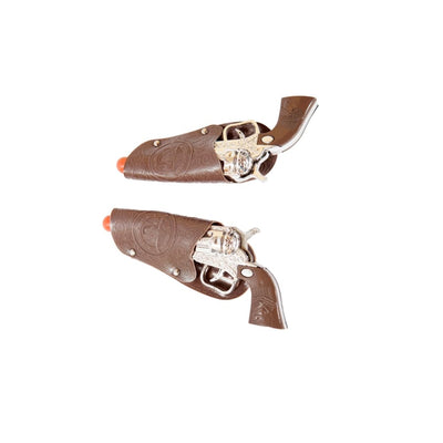 Pair of Toy Cowboy Guns - One Size / As Shown - Costume