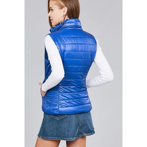 Quilted Padding Vest - Jacket