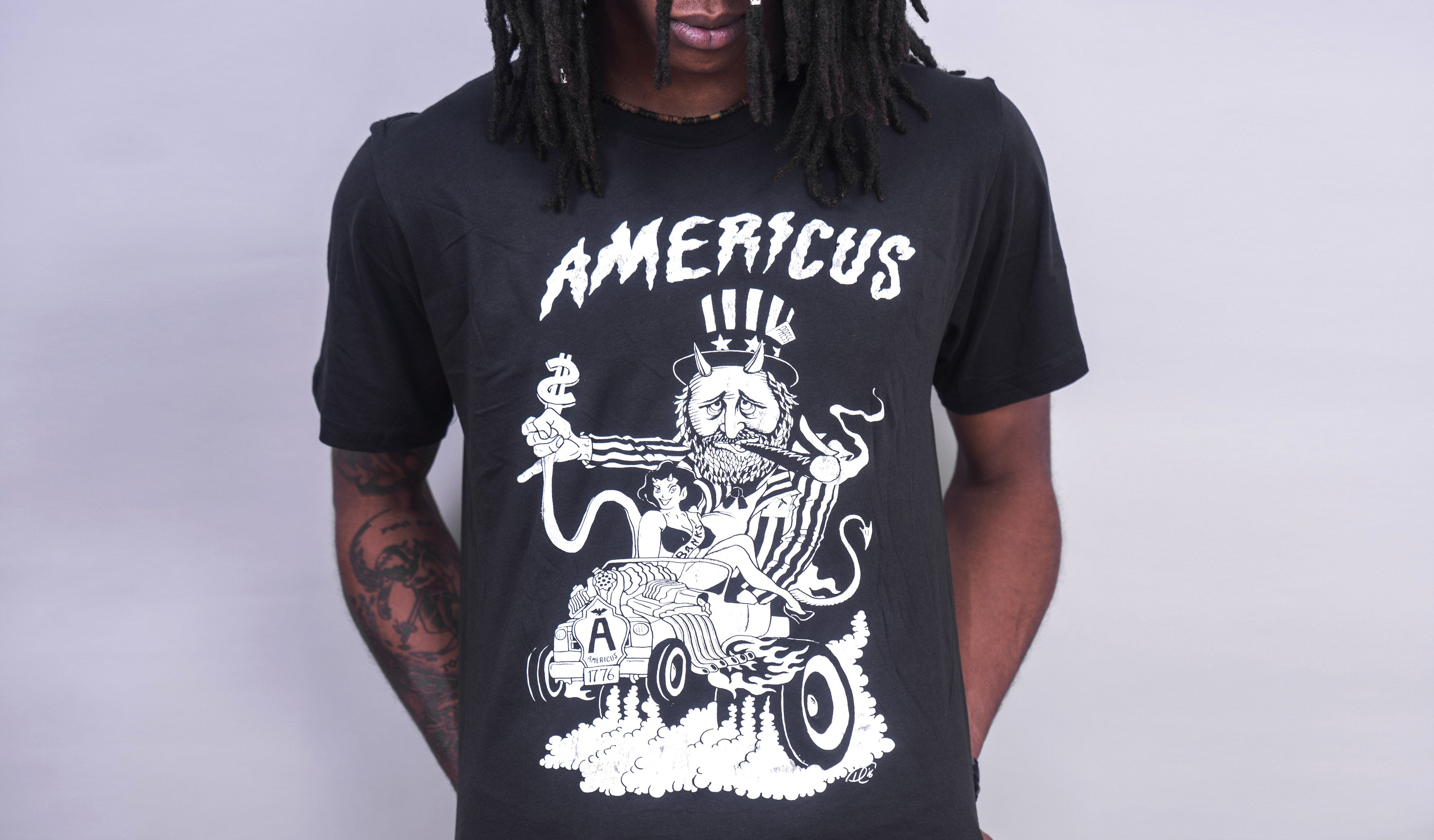 Engine Americus (Vintage Black)