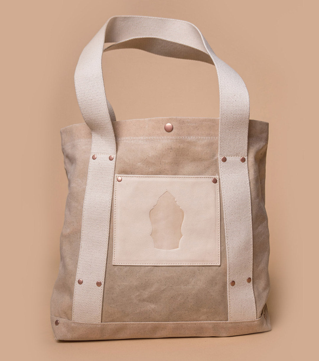 Harbor Tote (Natural/Ivory)