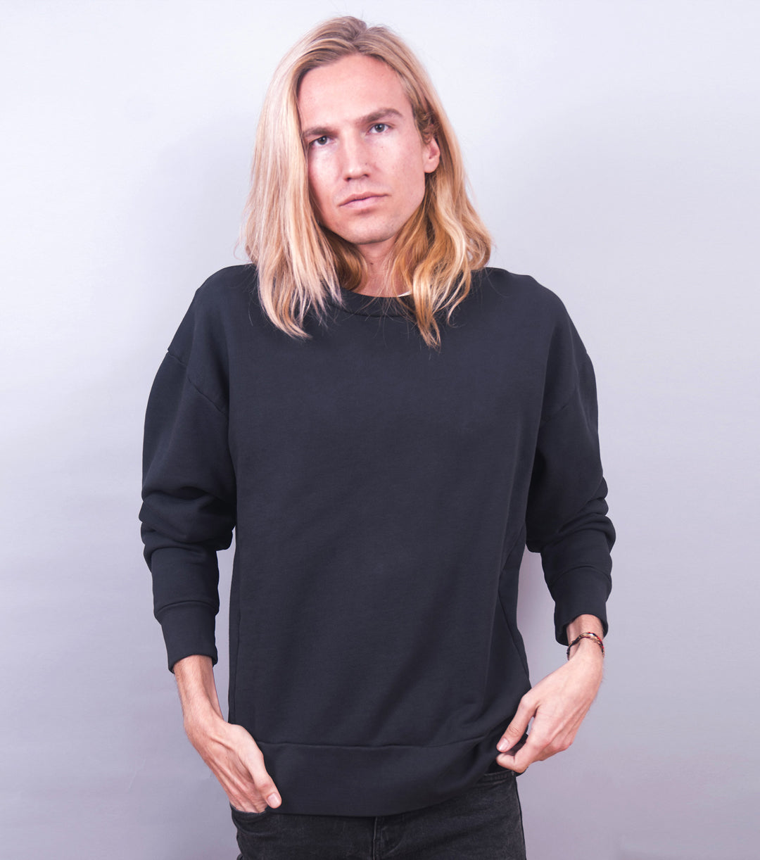 Heavyweight Sweatshirt (Phantom Black)