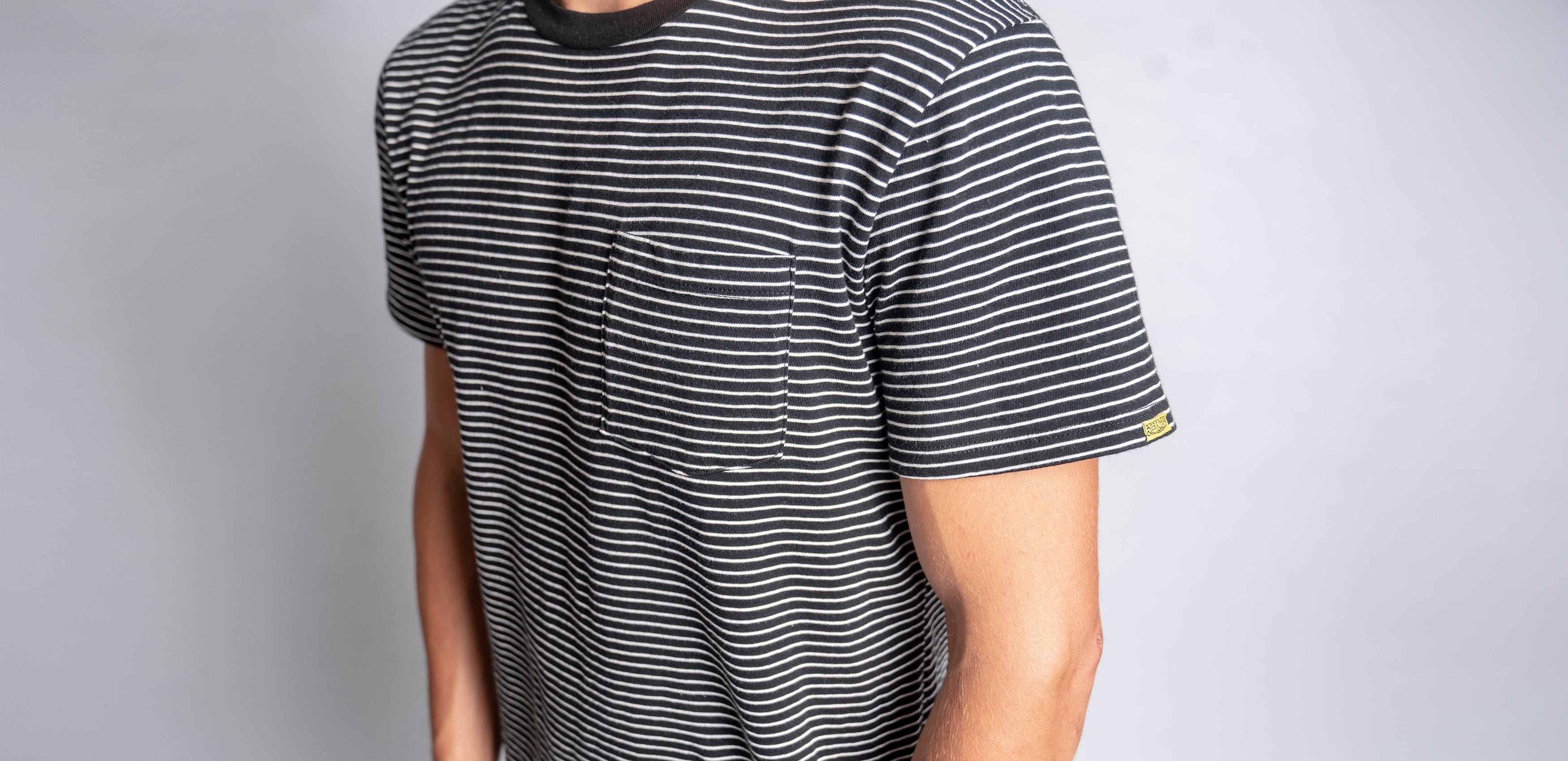 1966 Striped Pocket Tee