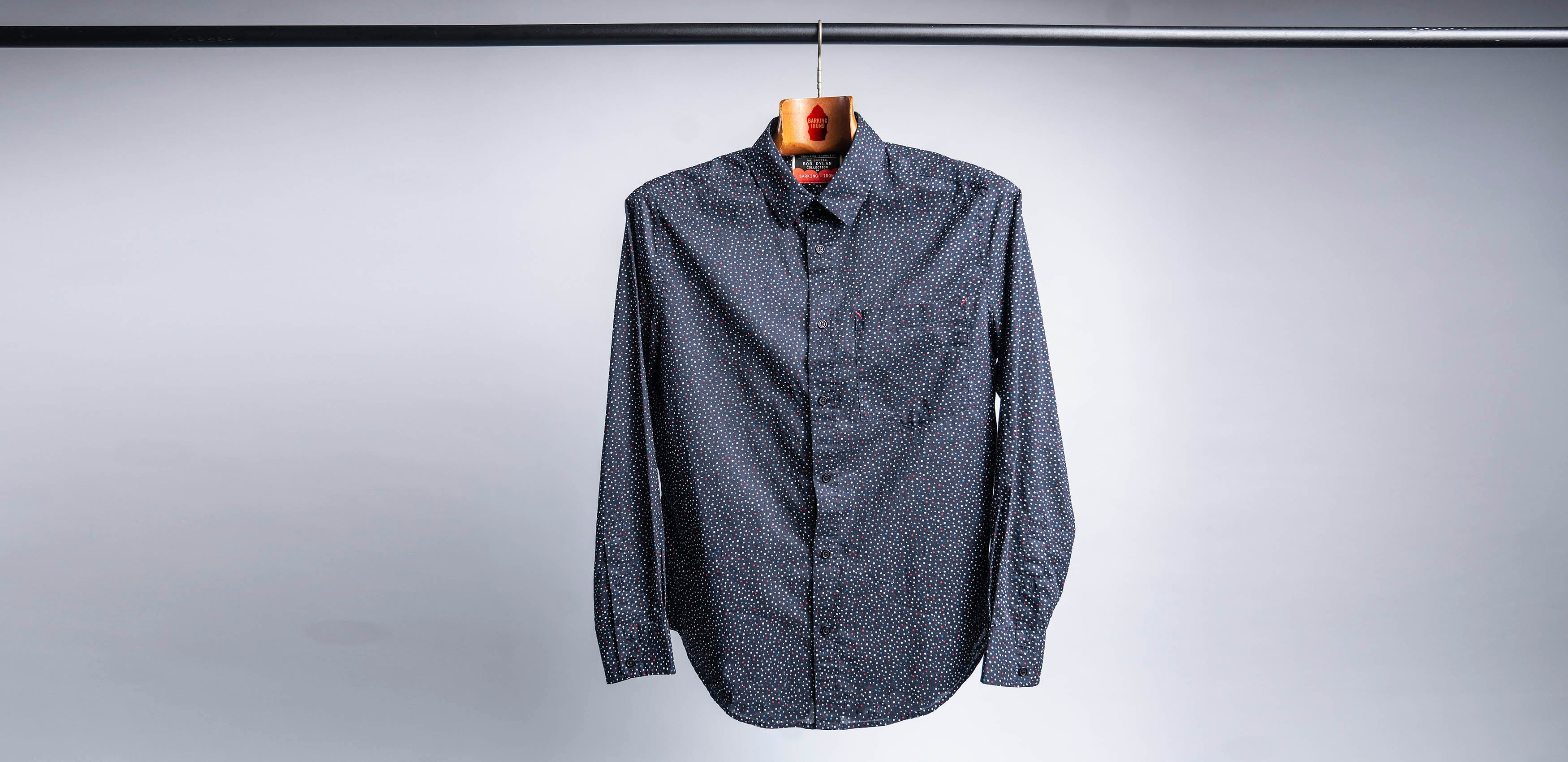 Bob Dylan's Blues Shirt (Dots)
