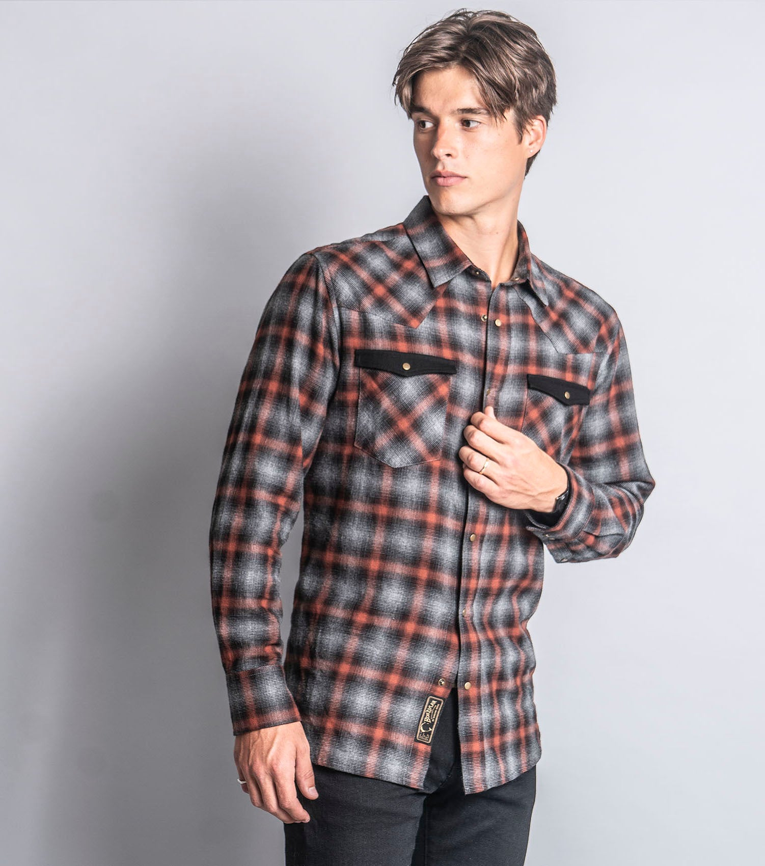 Upstate Plaid Shirt (Shadow)