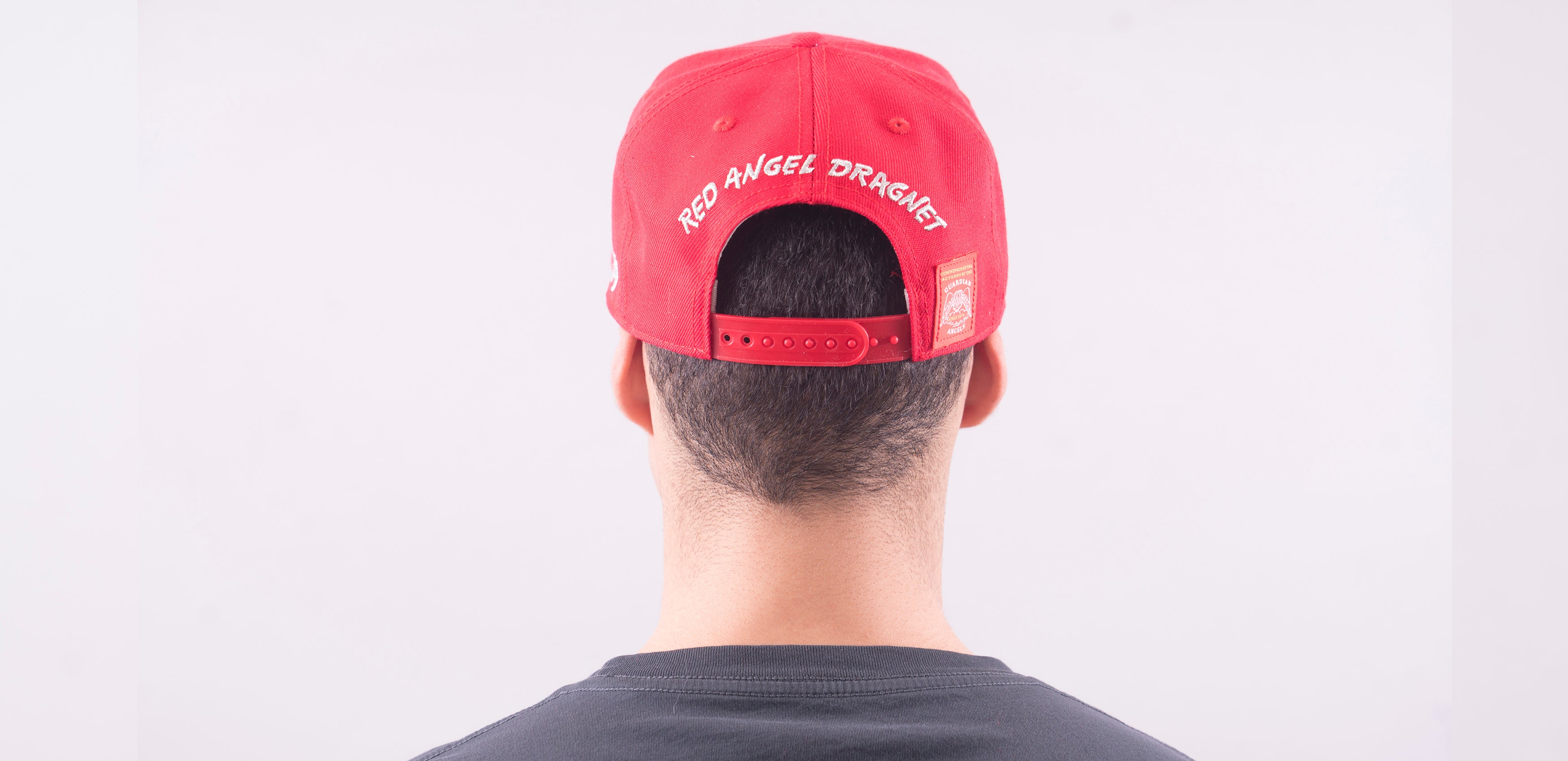 Guardian Angels Red Angel Dragnet Snapback Hat