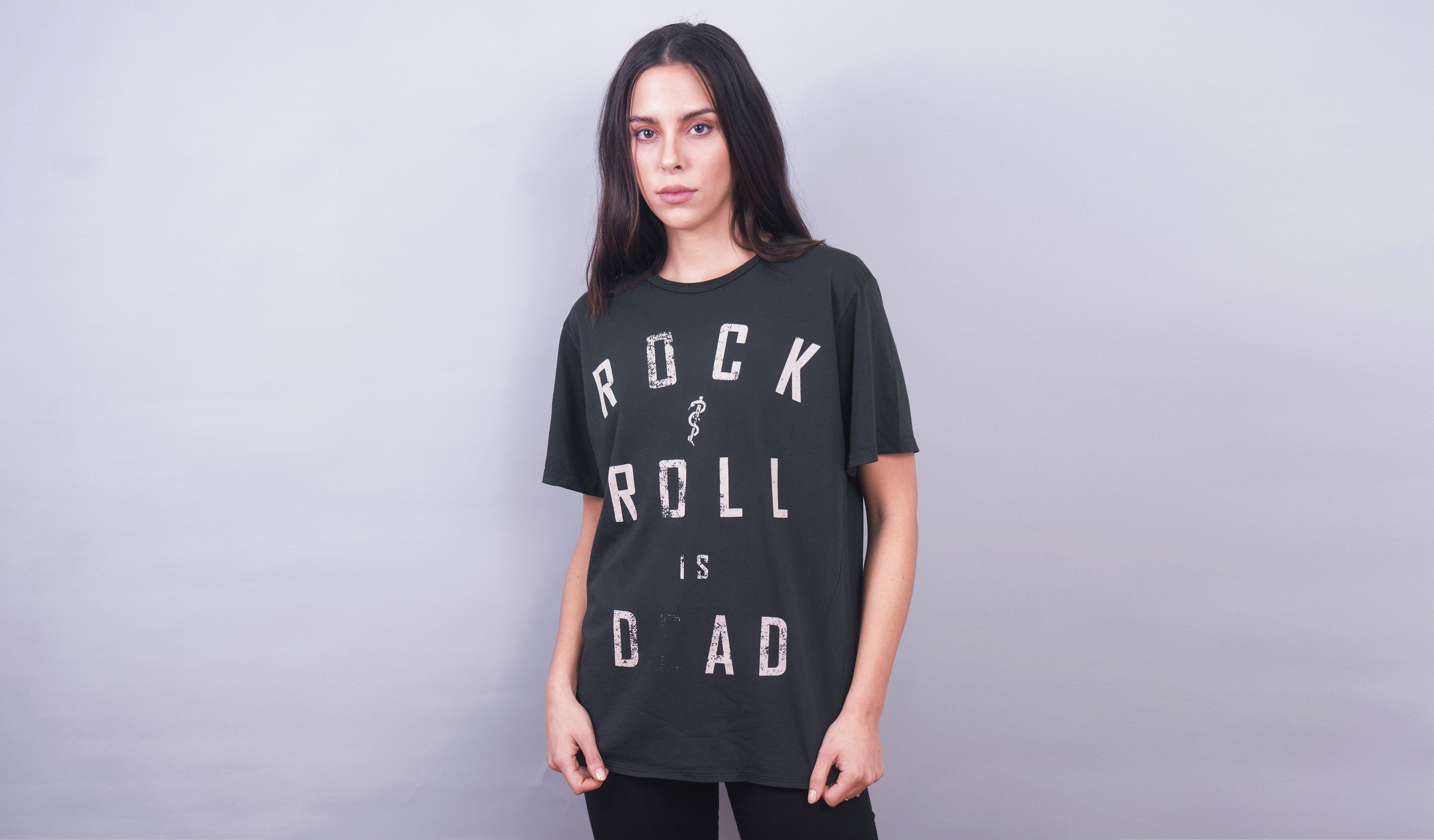 Rock n Roll is D_AD (Vintage Black)