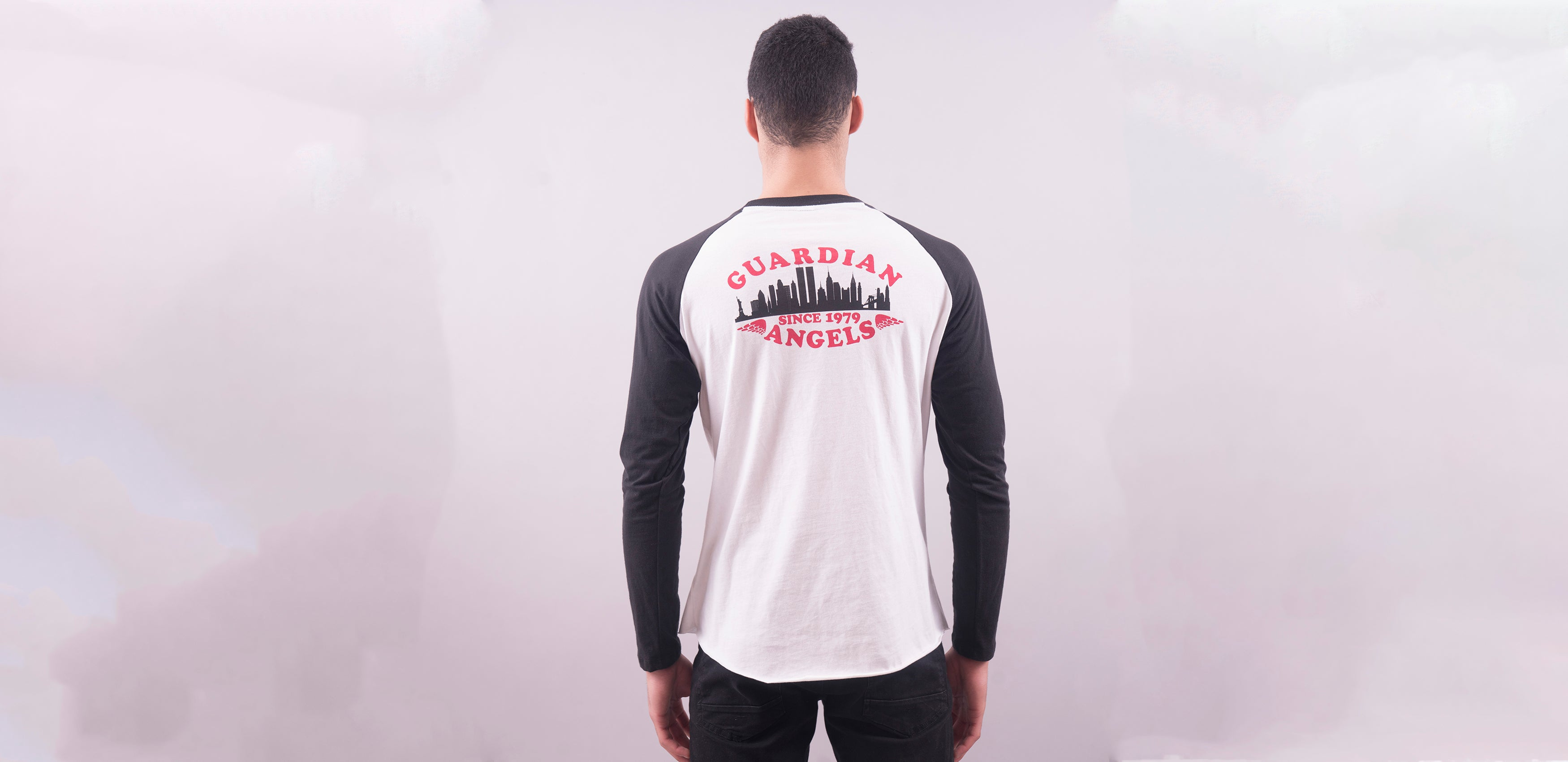 Guardian Angels Vigilante Baseball Raglan