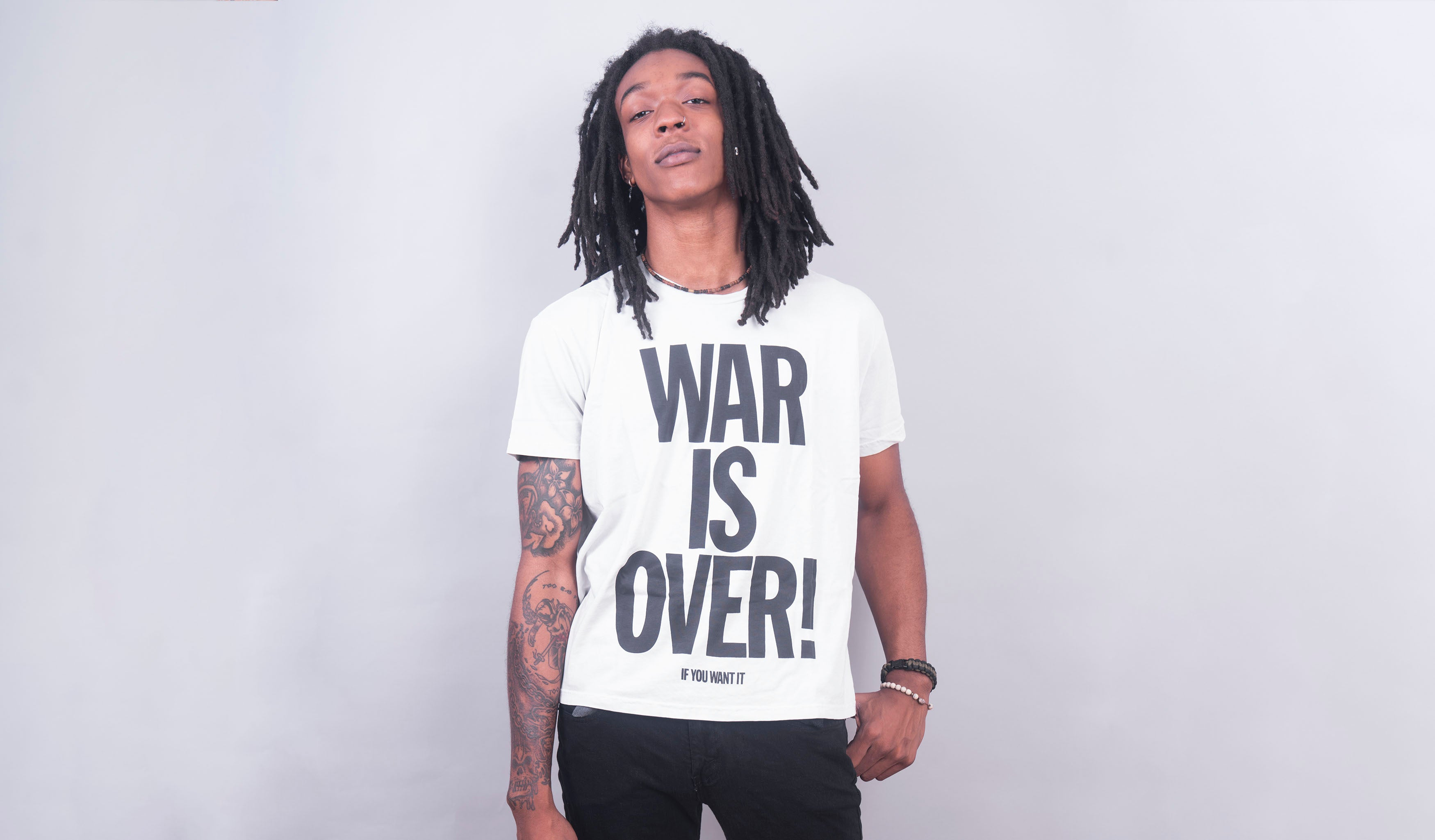 War is Over! (Vintage White)