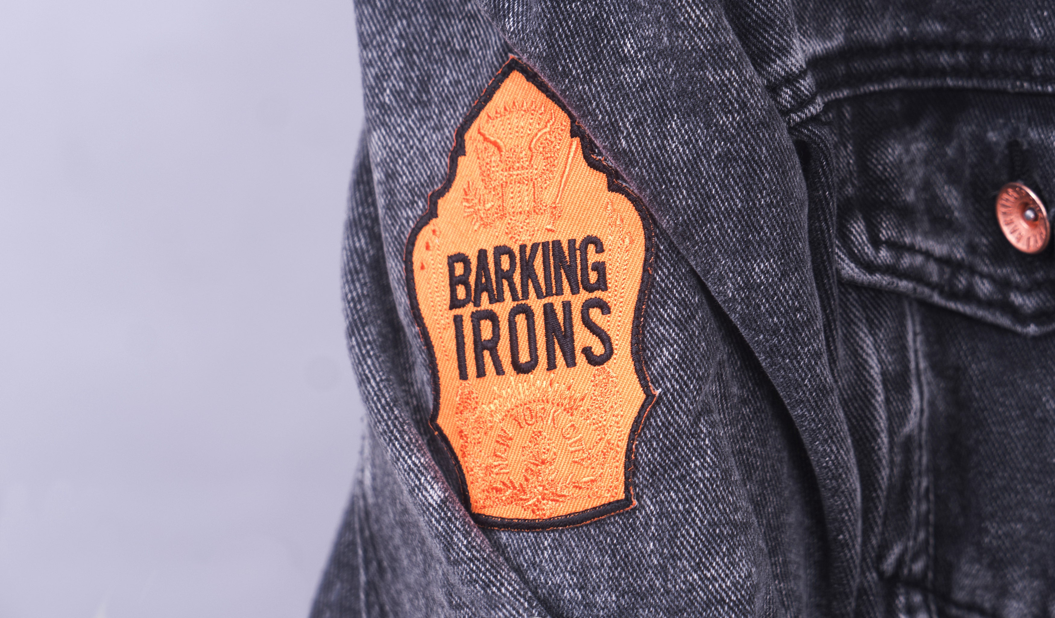 On the Bowery Jacket (Grey Ghost Wash)