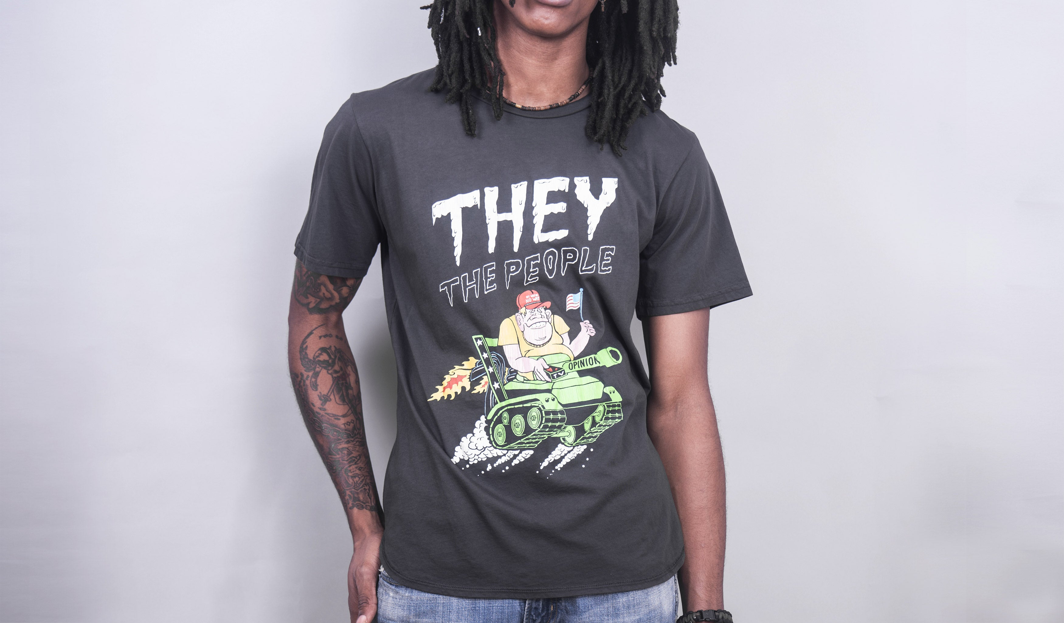 They The People Neon (Vintage Black)
