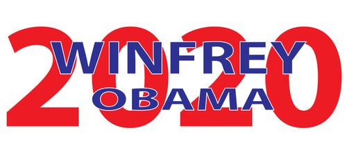 2020 WINFREY/OBAMA - MegFord Design