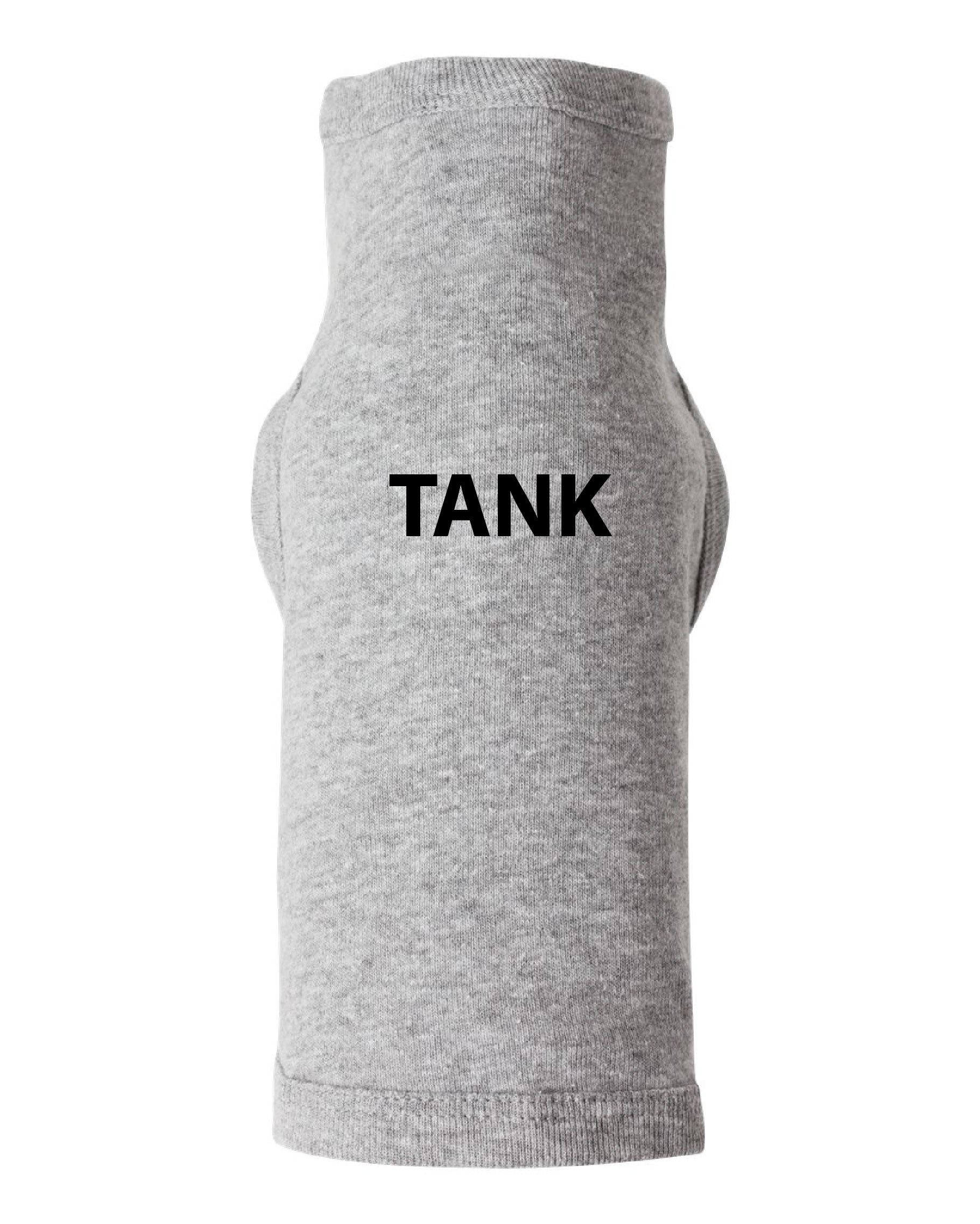 Doggie Tank - Custom Embroidered with your dogs name - MegFord Design