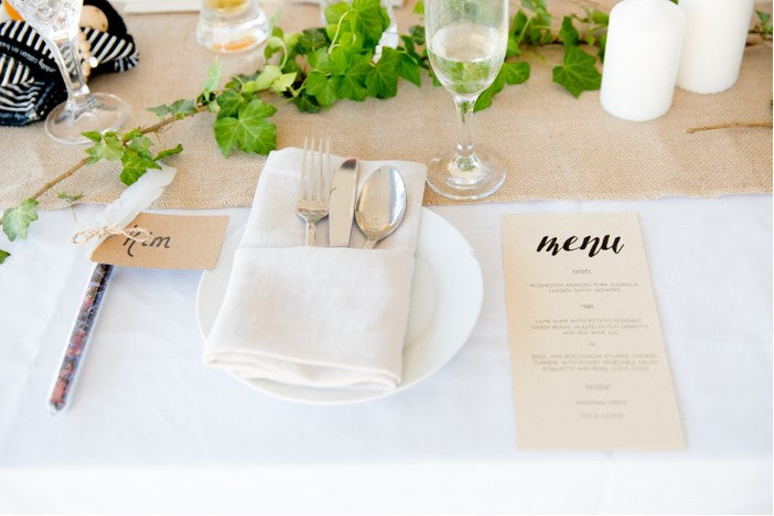 Runner - Table - Hessian