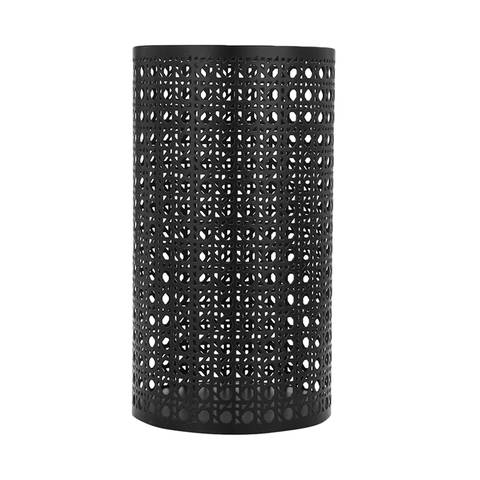 Candle Holder - black mesh