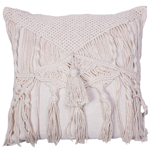 Cushions - fringed
