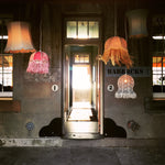 Chandelier - vintage lamp - various