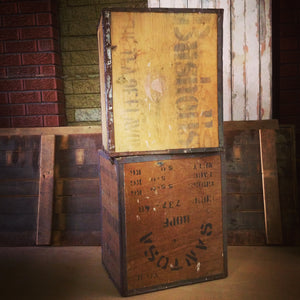 Tea chests – vintage