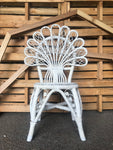 Chair - Peacock - White