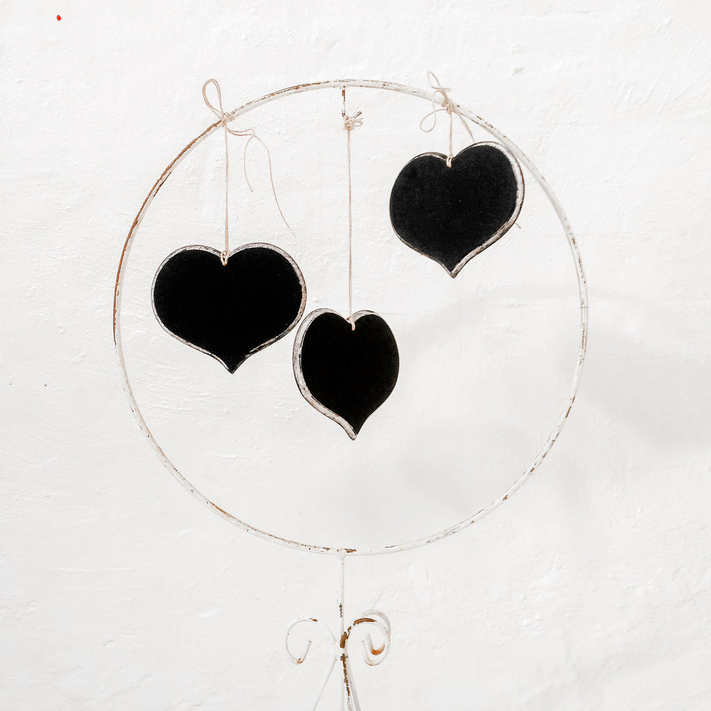 Chalkboard - heart shaped