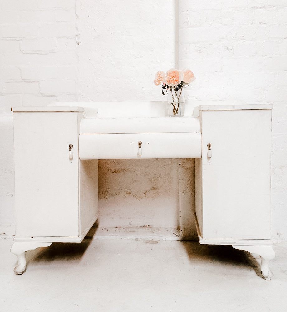 Antique Dresser - white