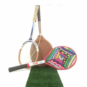 Vintage Wooden Tennis Racquets – set of 4