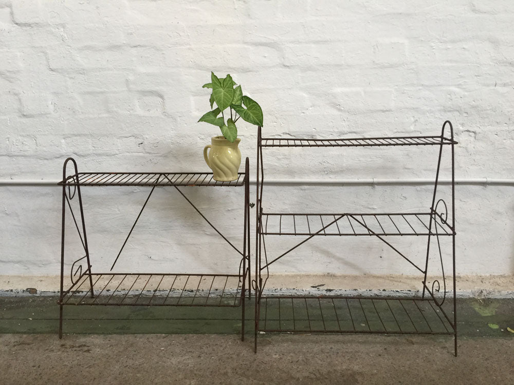 Rustic Plant Stands - assorted