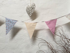 Bunting - Cotton - Coloured