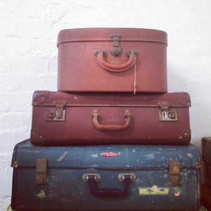 Vintage Suitcases – various sizes and colours