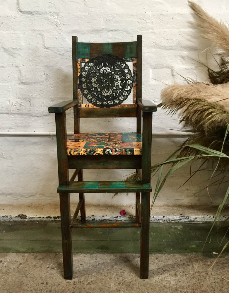 Highchair – vintage Mexican-style