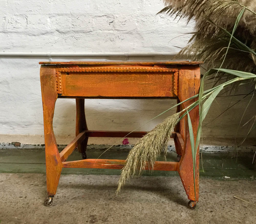 Side Table – orange