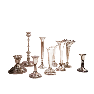 Candle Holder - Silver