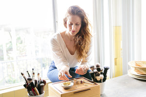 Starling Darling: Katey Denno, Makeup Artist & Green Beauty Expert