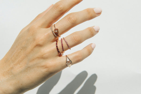Starling Jewelry Fine Ruby Rings