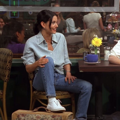 monica geller outfit inspo classic style