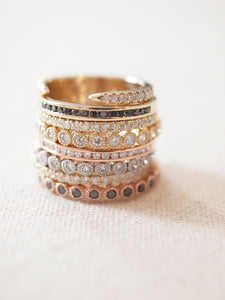 Bead Set Ring