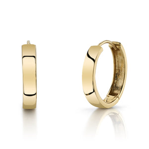 Large Hoops 14K Yellow Gold / Pair