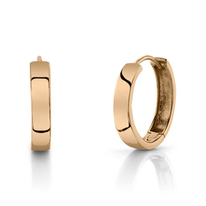 Large Hoops 14K Rose Gold / Pair