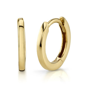 CLASSIC SMALL GOLD HOOPS