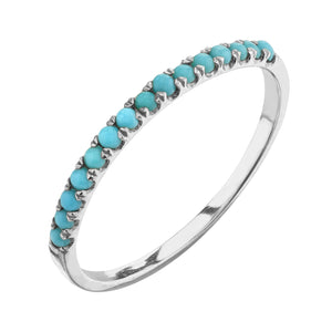 turquoise, white gold