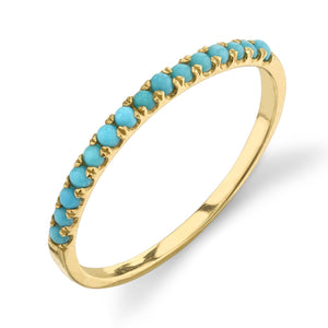 turquoise, yellow gold