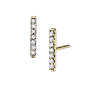 COLETTE PAVÉ EARRINGS