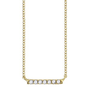 COLETTE SMALL PAVÉ NECKLACE