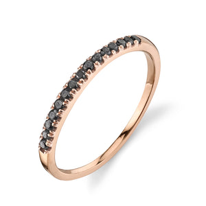 black diamond, rose gold
