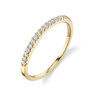 white diamond, yellow gold